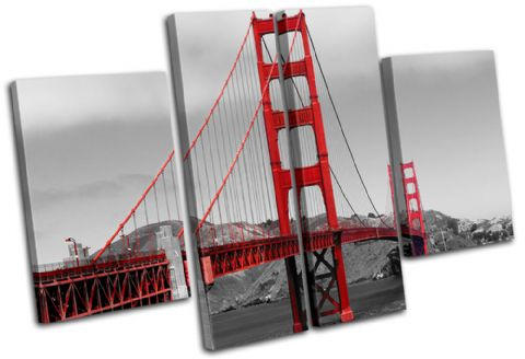 Golden Gate Bridge Landmarks - 13-1275(00B)-MP17-LO